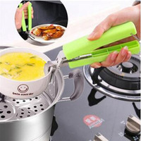 Wholesale Dish Clamp - Creative Multifunction Scald Heat Proof Plate Bowl Dishes Kitchen Helper Clamp Clip Bottle Opener Easy To Use and Clean CCA6490 120pcs
