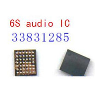 Wholesale Ic Audio Iphone - 10pcs  lot, Original New for iPhone 6S 6S PLUS 6S+ 6SP U3700 small ringtones audio IC chip 338S1285 replacement free shipping
