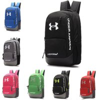 Wholesale Mountain Camping Hiking Backpack Bag - UA Backpack Boys & Girls' Casual Backpacks Mountain Climbing Travel Outdoor Bags Teenager Students School Bag Multicolors