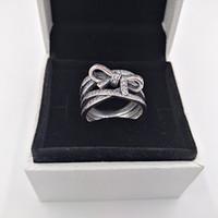 ingrosso fiore orientale-L'anello orientale autentico del fiore degli anelli dell'argento sterlina 925 misura i monili europei di stile di Pandora che spedice liberamente 191000CZ