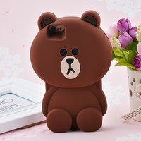Wholesale Apple P - Case covers a cute cartoon silicone case with a cuticle and a cuticle It can be used for the use of the cuticle, and it is the cutest cute p
