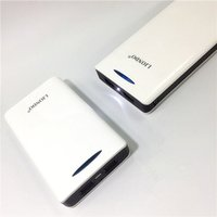 Wholesale Cheap Cell Phone Big - A-92 New Cell Phone Accessories 2017 China Factory Cheap Ultra Big Mobile Power Bank 20000 mAh 2usb Charger Power Light Display Power Bank