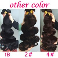 Fashionkey New Arrival Cheap Synthetic Hair Extensions Body Wave 3 Pacotes Ofertas Black Red Dark Brown Body Wave Bundles