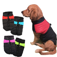 Wholesale 8 Size S XL Winter Clothes For Pet Dogs Waterproof Warm Large Dog Vest Cat Puppy Dog Coats Jackets