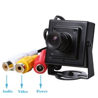 Wholesale Camera System Cheap - Cheap HD 720P AHD Mini Hidden Small Digital CCTV Camera Audio Pinhole Security Surveillance Indoor System