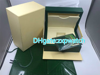 Wholesale Square Boxes Order - Top grade green wooden brand watches' box hot sale but not sell in single have to order together with watch