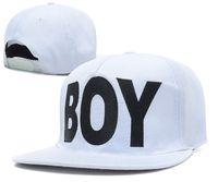 Wholesale Camo Boy Snapback - Wholesale-BOY london Snapback Hats black   white   leopard   camo mens & women adjustable snapbacks caps Freeshipping