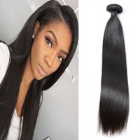 YSG Straight Hair Pieces Produits Natural Color Mongolian Extension de cheveux humains peut être teint 100g / peice Remy Hair