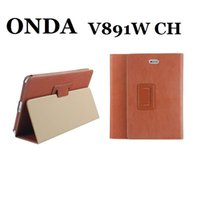 Wholesale Case For Tablet Onda - Wholesale- Original For ONDA V891W CH Case PU Protective Leather Case Cover For ONDA V891W CH 8.9 inch tablet pc