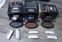 Wholesale Making Seal - New Hot Kylie Quick Makeup Stamp Eyebrow Powder Seal Eye Brow Powder Eyeshadow Brow 3 Color Make UP DHL Shipping