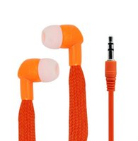 auriculares del oído fresco al por mayor-Colorido de 3.5 mm de tela auriculares estéreo de auriculares auriculares de plástico en la oreja los auriculares sonido claro auriculares Cool Design