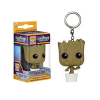 Wholesale Funko pop guardians of the galaxy dance war grote bobble head keychain Super Natural Join The Hunt Dean Castiel Pocket Pop Toy