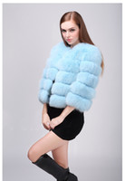 Wholesale Short Orange Fur Jacket - Fluffy warm faux fur coat women Elegant long sleeve female outerwear Black chic autumn winter coat jacket hairy overcoat