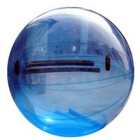 şişirilebilir zorb toptan satış-Ücretsiz Kargo Dayanıklı PVC İnsan Hamster Top Su Topları Zorb Dev Sisme Ucuz 1.5 m 2 m 2.5 m 3 m