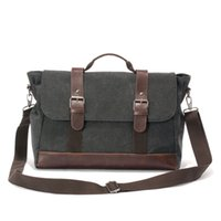 Wholesale Sports Cell Phone Covers - Wholesale- Mans Canvas Messenger Bags Sport Handbag Casual Tote Multifunctional Canvas Outdoor Shoulder Bags Crossbody Bags Mens Satchel