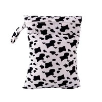 Wholesale Baby Swimmers - Wholesale- Printed Watetproof Reusable Baby Diaper Bags Swimmer Mummy Wet & Dry Nappy Bags Cloth Diaper