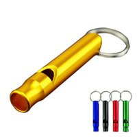 Wholesale Wholesale Situation - Extra Loud Whistles for Camping Hiking Hunting Outdoors Sports and Emergency Situations, Sturdy but Light Aluminium Key