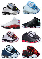 ventas de látex al por mayor-Nike Air Jordan Retro Shoes caliente por mayor 13 zapatos de baloncesto Horizons Prm Psny Future zapatillas de deporte de los hombres de las mujeres del atletismo rosado 13s XIII