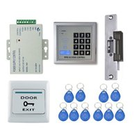 Wholesale Full Door Locks - 125khz RFID Door Access Control System Strike Lock full kit