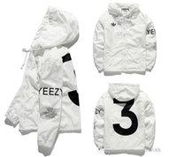 Wholesale Xxl Size Baseball Jackets - YEEZUS Jacket Men KANYE WEST Hip Hop Windbreaker MA1 Pilot Men's Jacket Tour Baseball Supremo YEEZUS Jaqueta Masculina Jackets size S-XXL