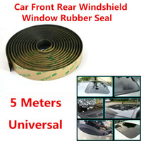Wholesale Windows Mouldings - 5M Sealed Strips Trim Moulding For Car Windshield Sunroof Triangular Window Seal