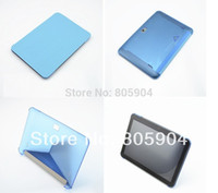 Wholesale Tablet P9 - Wholesale- Free shipping Pipo M9S P1 P9 3G   P9 4G Tablet PC Smart Leather Case Black Blue 100% Original