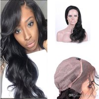 Wholesale Malaysian Hand Tied Weave - Brazilian Body Wave 100% Human Hair Weave Closure Unprocessed 8A Grace Lace Frontal Hand Tied Elastic Straps Knots Bleached