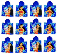 Wholesale Swimming Robes - Moana Cloak Towels Boys Girls Cotton 60*120cm Cartoon Pattern Bath Towel Kids Cartoon Printed Towels For Swimming Best Gfits Free Shipping
