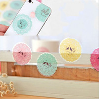 Wholesale Decal Labels - Baking Sticker Seal Transparent Lace Paster Like A Breath Of Fresh Air Stickers Self Adhesive Label Originality Beauty Decoration 0 33jd H R