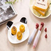 canetas de gelado venda por atacado-Placa Eco-Friendly Partido Silicone Pen sobremesa bolo decoradores Baking Pastry Ferramentas creme confeiteiro Decoração Seringa New Decor Chocolate Pen