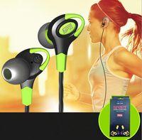 Wholesale Earbuds Ear Plugs - Original T600 Earphones Sport Running Heatset Sweat-proof In-Ear Headphones With Microphone 3.5mm Plug Low Bass Portable Earbuds