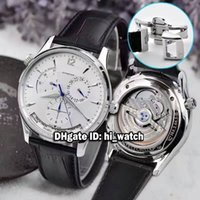 Wholesale Master Double - Super Clone Brand Luxury Master Geographic CONTROL GMT 1428421 Q1428421 Automatic Power Reserve Double Time Zone Automatic Mens Watches