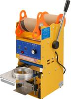 Wholesale Bubble Tea Cups - Digital Manual Cup sealing machine 95mm bubble tea Cup sealer Bubble Tea Machine 220V 110V LLFA