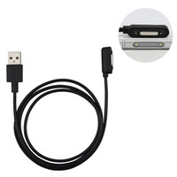 Wholesale z2 tablet for sale - New Magnetic USB charging cable For Sony Xperia Z3 Z2 Z1 Z3 mini charge cable Adapter L39h L55H Z3 Compact Tablet magnet cable