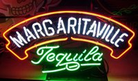 Wholesale Tequila Bar Signs - Fashion New Handcraft Margaritaville Tequila Real Glass Tubes Beer Bar Pub Display neon sign 19x15!!!Best Offer!
