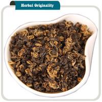 siyah bakım toptan satış-Yunnan Dianhong Siyah Çay Erken Bahar Çin Kungfu Çay Bitkisel Organik Zayıflama Vücut Sağlık 200g