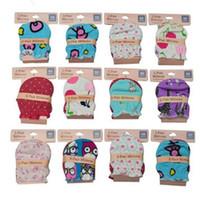 luvas de algodão do bebê venda por atacado-AbaoDo brand new design luvas do bebê luvas 100% algodão recém-nascidos luvas manoplas antiderrapante luvas de alta qualidade