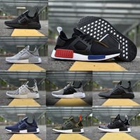 Wholesale Camo Blue - 2017 Original NMD_XR1 PK Running Shoes Cheap Sneaker NMD XR1 Primeknit OG PK Zebra Bred Blue Shadow Noise Duck Camo Core Black Fall Olive