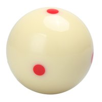 Atacado- 6 Red Dots Cue Ball Billiard Snooker Training Cue Ball Spot Pool Billiard Table Practice 2 1/4