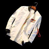 Wholesale men s clothes for autumn resale online - Men Spring Windbreaker Jacket Cotton Bomber Jacket Chaquetas Hombre Casual Windbreaker XL Brand Clothing for Male Autumn Coats