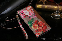 Wholesale Luxury Designer Iphone Wallet Case - Luxury Designer Grid Wallet Leather Flip Case For iPhone 8 7 6 6s Plus Fashion Brands Wallet Credit Card Flip Cover for iPhone X 5.8inch