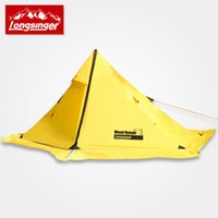 Wholesale Professional Construction - Longsinger high quality Swordbill outdoor ultra-light silicon single tent double layer professional camping tent