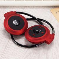 Wholesale Wireless Earphones For Radio - 2017 Mini 503 Sport Bluetooth Wireless Headphones Music Stereo Earphones + Micro SD Card Slot + FM Radio Mini503 multi-color optional
