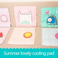 Wholesale Cooling Car Summer Seat Cushion - Summer cool cushion cooler car seat ice pillow