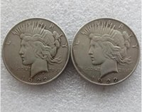 Wholesale Batman Arts - High quality Batman Dark Knight Harvey's 1922 Peace Dollar Two Face Coin Co Promotion Cheap Factory Price nice home Accessories Silver Coins