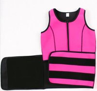 Wholesale Body Corset For Women - High quality Neoprene Slimming Waist Belts Sports Safety Body Shaper Training Corsets Yoga Fitness Tops For Women 1pc lot