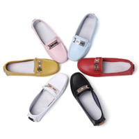 RomenSi New Women Mocassins en cuir Chaussures Mocassins décontractés Soft Ladies Slip-on Flat Chaussures Driving Footwear Taille 35-40 En 6 Couleurs