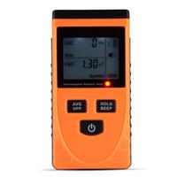 Wholesale electromagnetic radiation - Dual Mode Gauss EMF Meter Electromagnetic Radiation Detector Dosimeter TE637