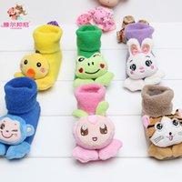 Wholesale Kids Baby Clothing China - Baby Kids Clothing Childrens Socks Winter warmer girls Boy christmas animal ankle sports socks Cotton 85% China stockings 0-12Mos #YB-13-55