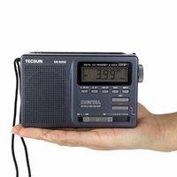 Wholesale Digital Clock Radios - Wholesale-Tecsun DR-920C Radio FM MW SW 12 Band Receiver with Digital Alarm Clock Sleep Timer FM Radio Y4139A